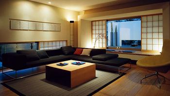 高級旅館のような内装インテリア空間.png